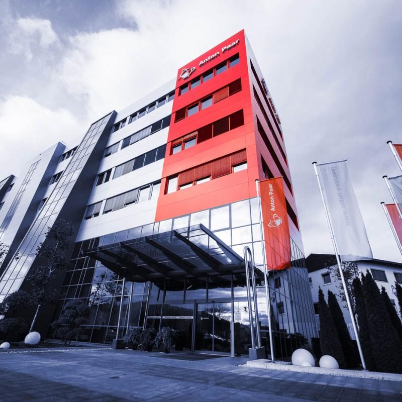 Image of the Anton Paar headquarter in Graz, Austria