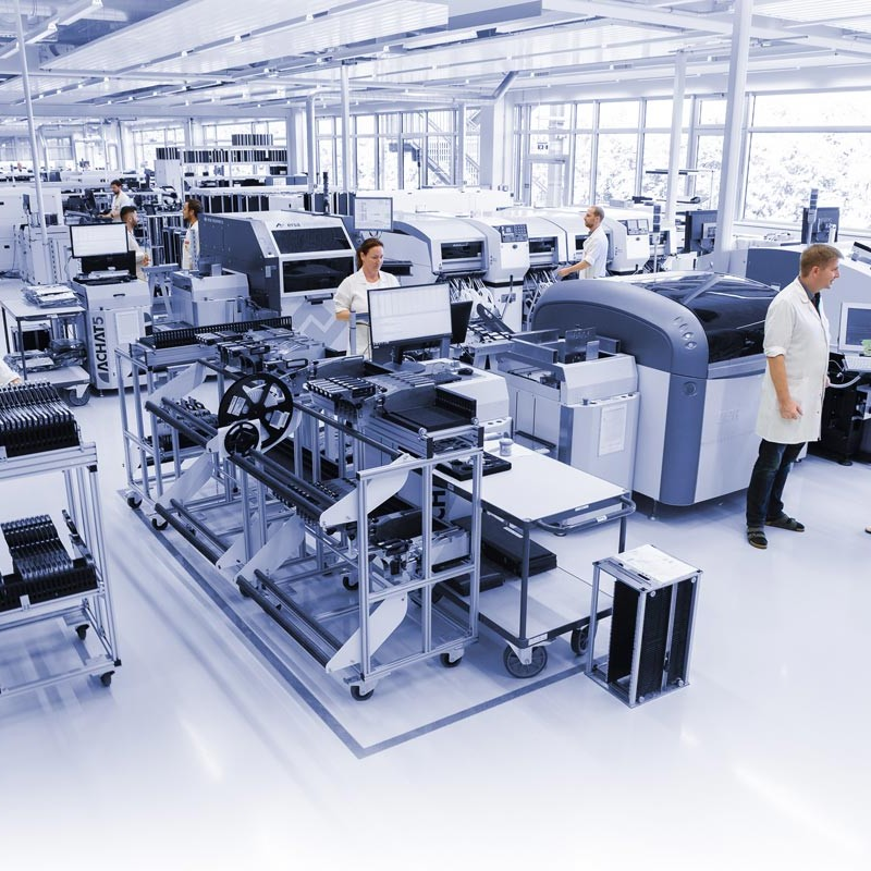 About - Image of electronic manufacturing at Anton Paar