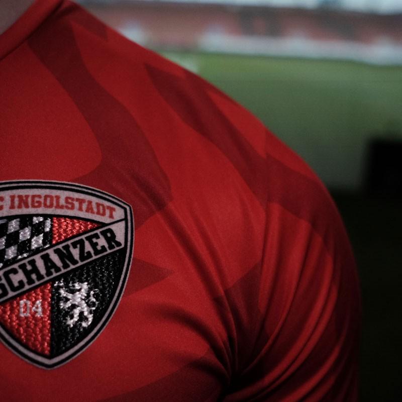 FC Ingolstadt 04 - Close up on a shirt of FC Ingolstadt