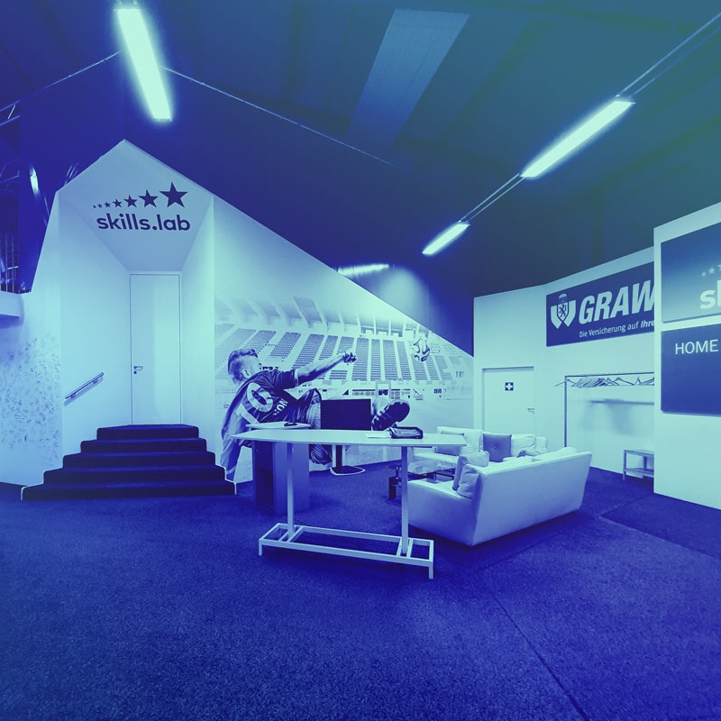 Image showing the entrance area of skills.lab Wundschuh